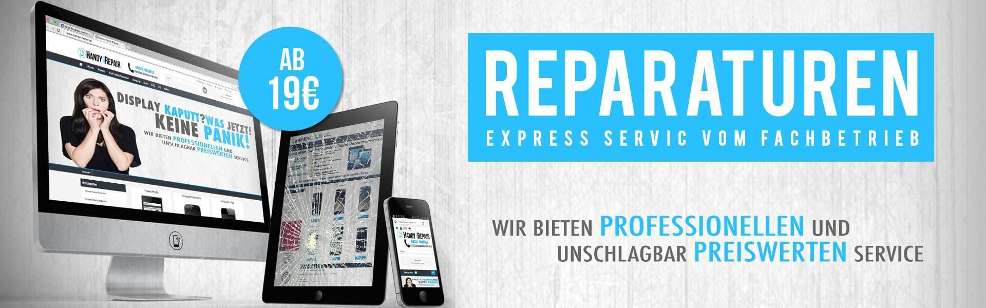 Handy iRepair - Express Service vom Fachbetrieb