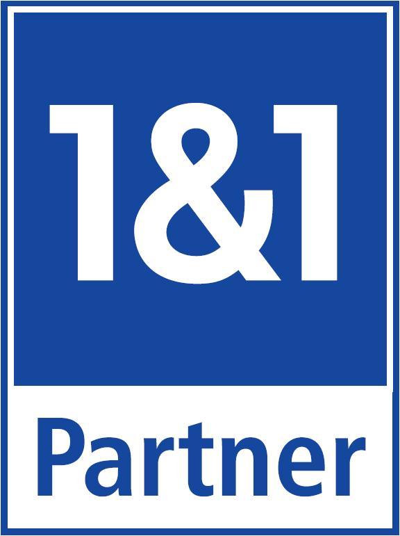 Wir sind offizieller Partner von 1und1