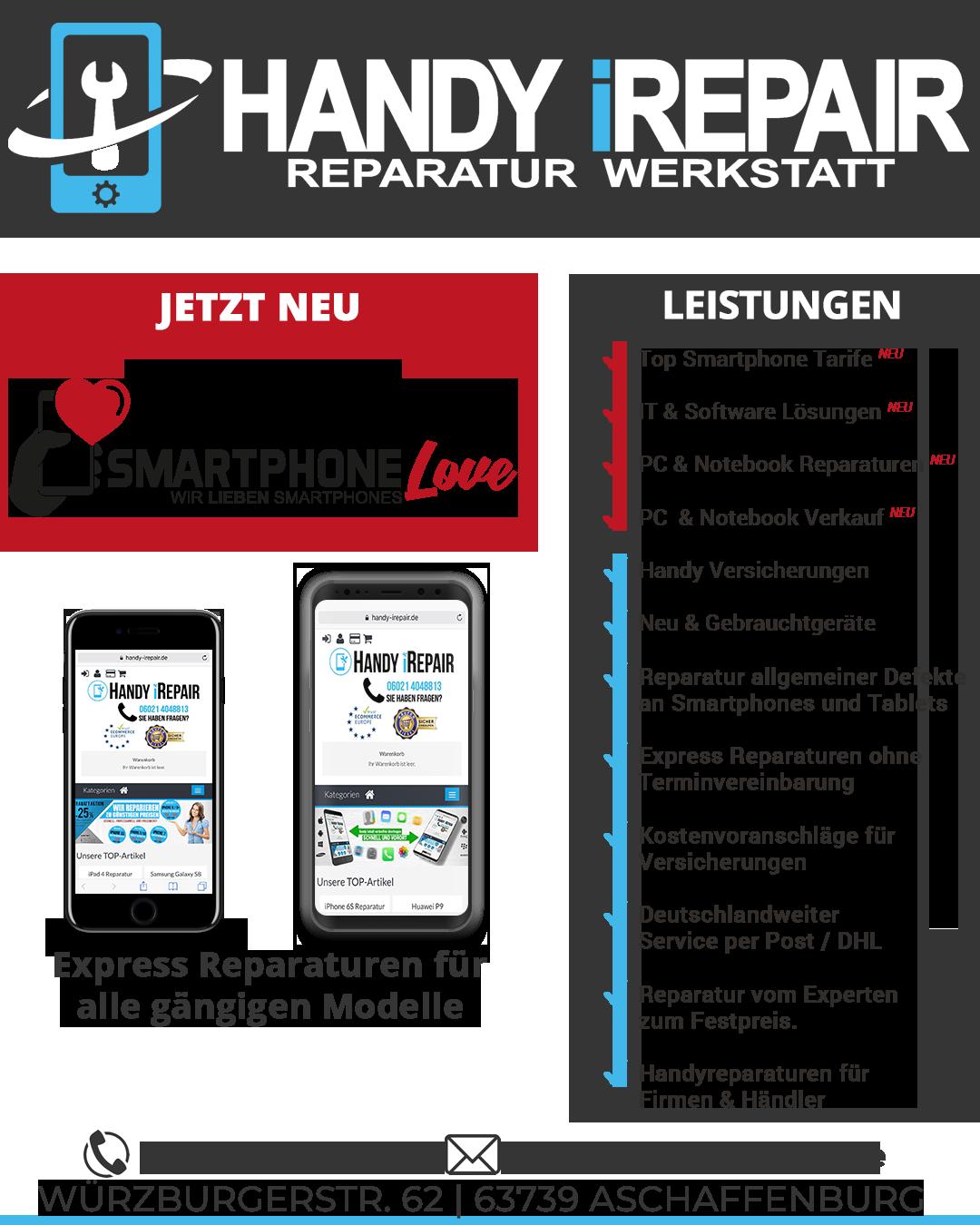 Handy iRepair - Smartphone Service Aschaffenburg