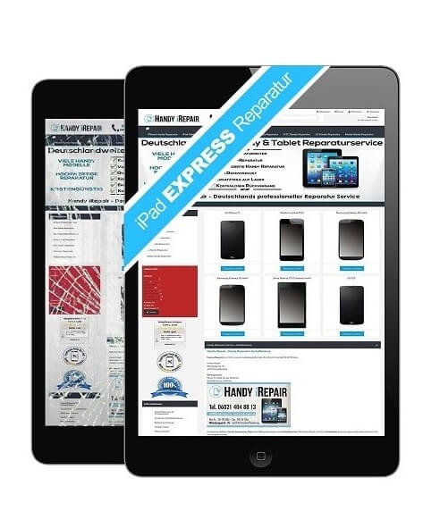 iPad Tablet Touchscreen, Display & Glas Express Reparatur